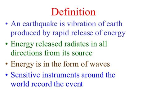 earthquake meaning earthquakes and evs