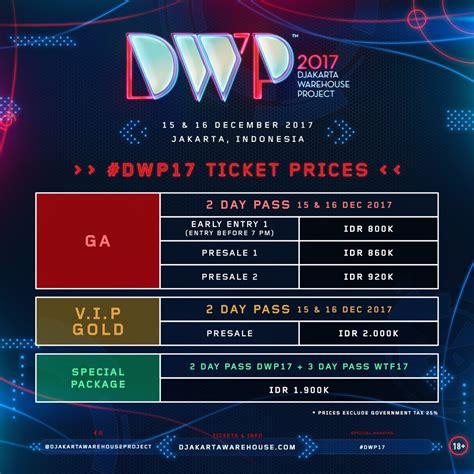 Harga Dwp gokil dalam hitungan jam tiket presale dwp 2017 udah