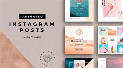 design studio instagram animated instagram posts from ruby heart studio