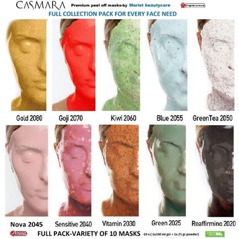 Masker Casmara casmara peel masks variety of all masks