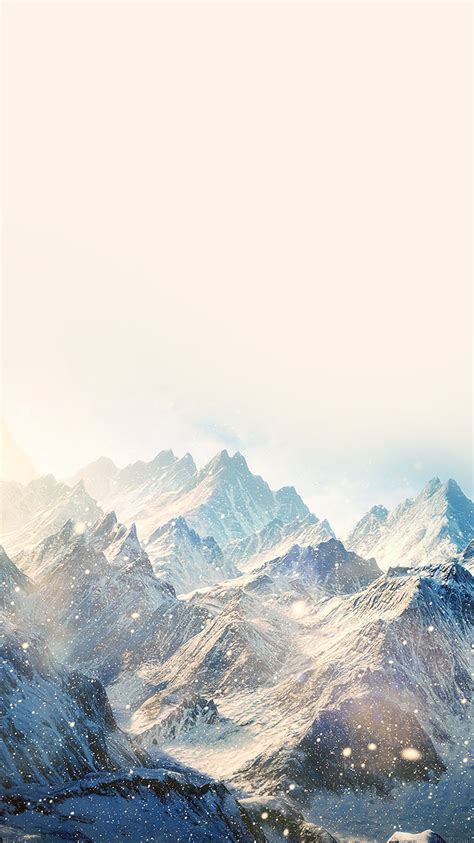 wallpaper iphone winter nature