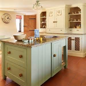 Cream Kitchen Island of the soft green and the cream country kitchen island ideas island