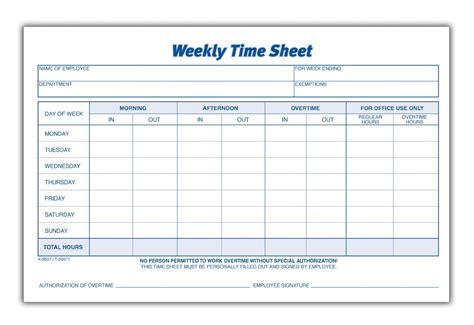 images blank printable timesheets