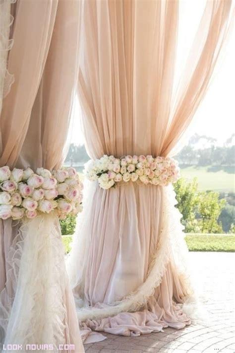 imagenes uñas boda cortinas para la decoraci 243 n de tu boda