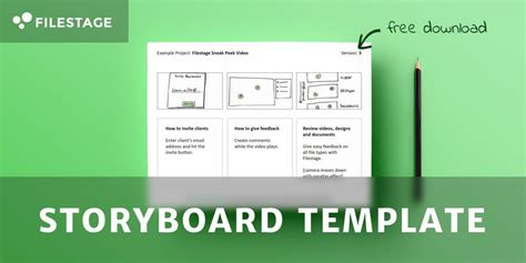 Free Storyboard Template Download The Advertising Bible Storyboard Template Powerpoint