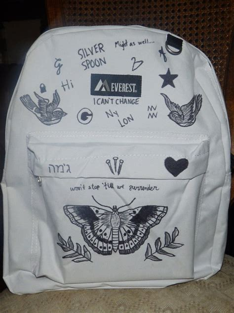 Harry Styles Tattoo Backpack | harry styles tattoo backpack