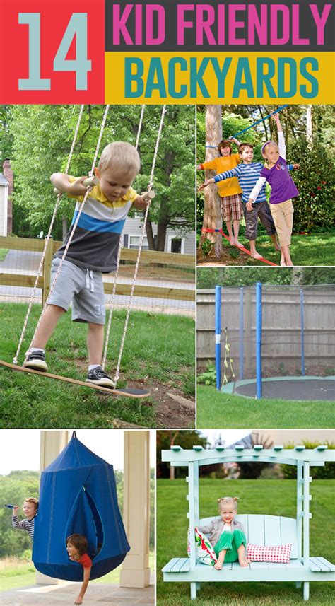 kids backyard fun 14 ways to make your backyard kid friendly on a budget