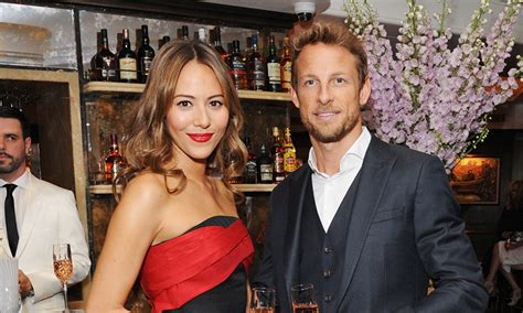 Exes Expecting by Jenson Button S Ex Michibata Is