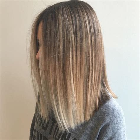 straight sholder length ombre hair 21 great layered hairstyles for straight hair 2018