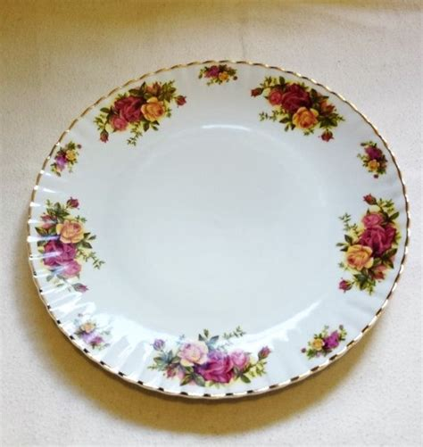 plate patterns vintage crown regal dinner plate rose pattern by