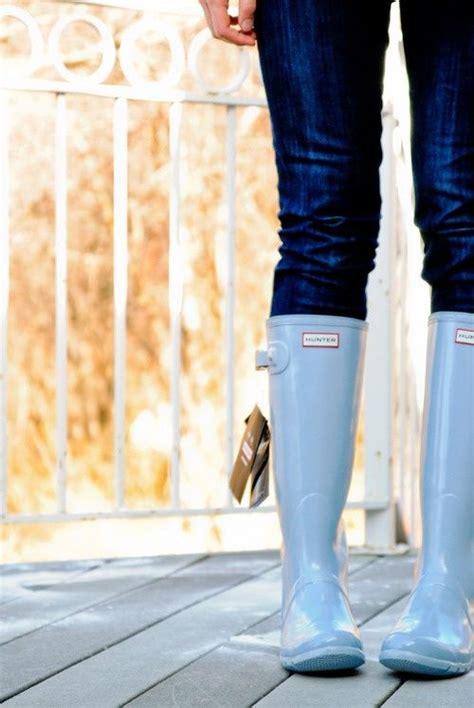 light blue hunter boots top 142 ideas about rainboots on pinterest pink