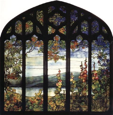 Louis Comfort Stained Glass Windows edgar degas museum leaded glass window louis comfort