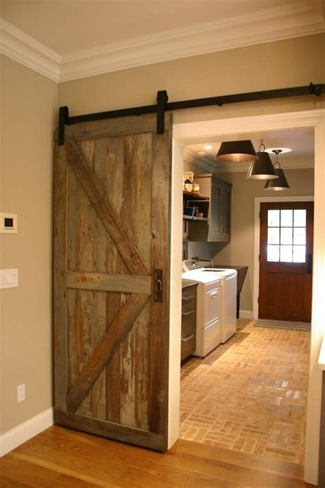 Real Barn Doors What Size Is That Barn Door And Does It Cover The Casing When Closed