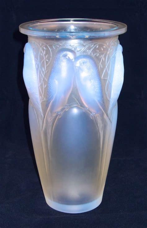Lalique Vase by R Lalique