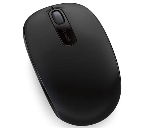 Mouse Laptop Komputer buy microsoft wireless mobile mouse 1850 black free delivery currys