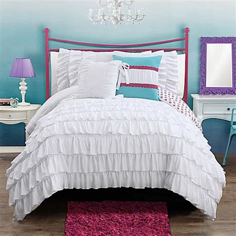 bed bath and beyond white comforter buy amanda reversible comforter set from bed bath beyond