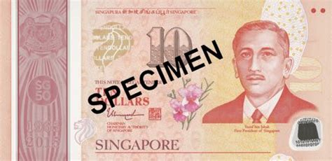 change new notes for new year singapore singapore unveils five new 10 and one 50 dollar