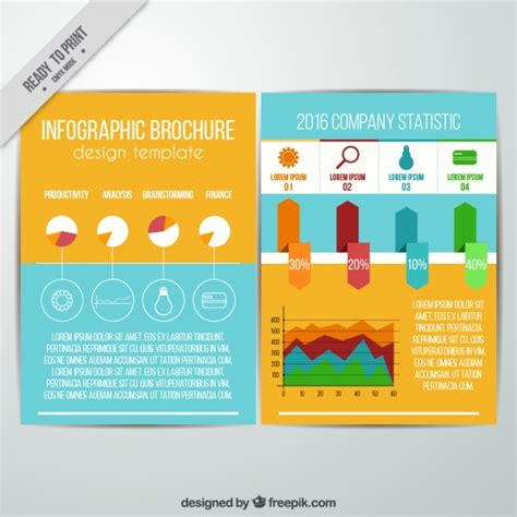 infographic brochure template infographic brochure template csoforum info