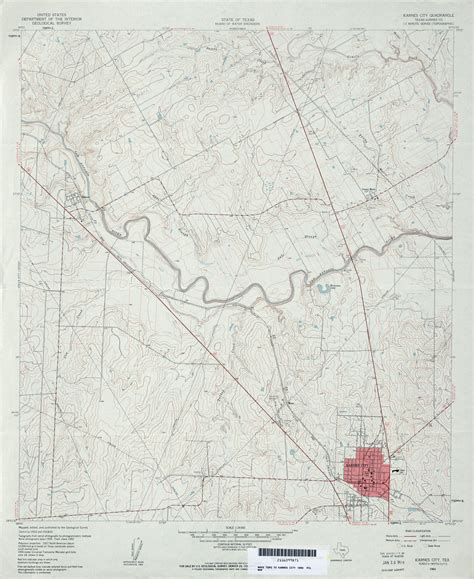 karnes city texas map texas topographic maps perry casta 241 eda map collection ut library