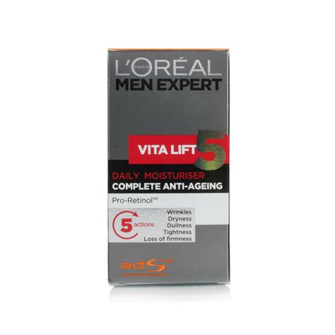 l oreal expert vita lift 5 complete anti ageing daily moisturizer 50ml price comparison l and apos oreal expert vita lift 5 complete revitalising moisturiser 50ml jpg q 75 o