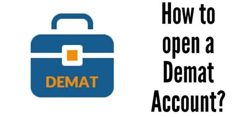 How To Open D Mat Account simple steps you can follow to open your demat account