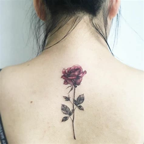 delicate rose tattoo 1001 ideas for beautiful flower tattoos and their secret