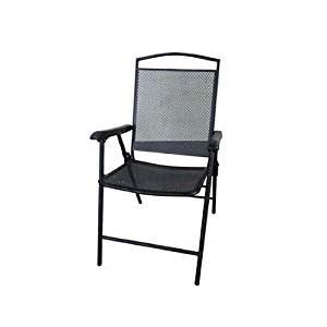black metal mesh outdoor chairs courtyard creations fls080 folding steel mesh