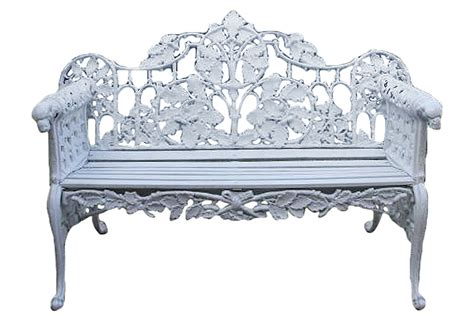 cast bench antique cast iron garden bench omero home