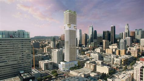 badezimmerdesign los angeles oda designs 70 story residential skyscraper for downtown