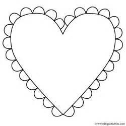 heart fringe coloring mother