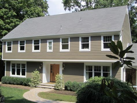 Saltbox Colonial garrison colonial custom exterior