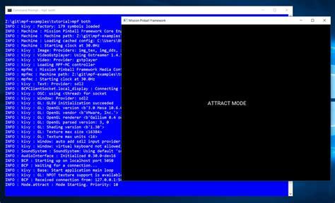 yaml tutorial c tutorial step 5 add a display mission pinball framework