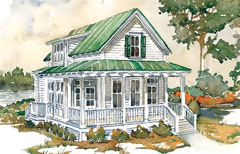 Island Cottage House Plans by Island Cottage Southern Living House Plans