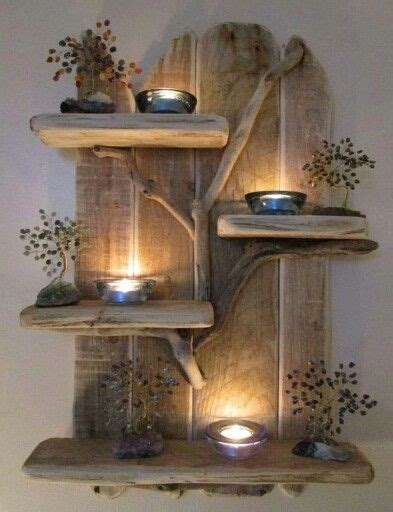 Etagere Weihnachtsdeko by Beautiful Driftwood Shelf And Ties On