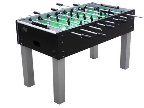 berner billiards outdoor foosball table in black outdoor