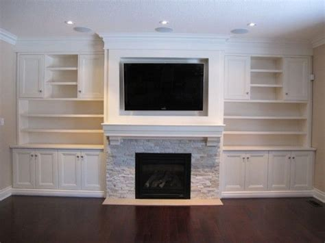 image detail for custom built in wall unit with tv