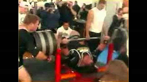 max bench record bench press world record youtube