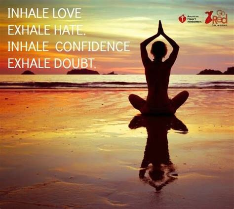 tattoo inhale love exhale hate inhale love exhale hate inhale confidence exhale doubt