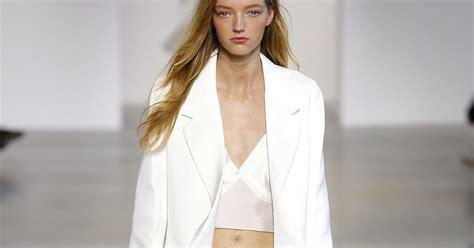 no more chevron whats new for 2015 fashion calvin klein spring summer 2016 new york visual