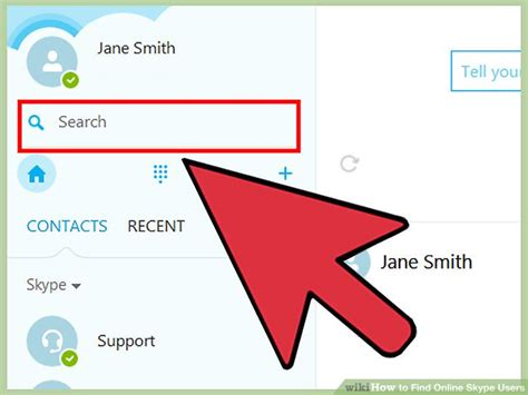 Skype Search User By Email How To Find Skype Users 11 Steps With Pictures Wikihow