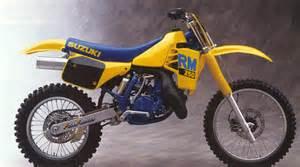 1988 Suzuki Rm 250 1988 Rm 250 Restore Finished But Need Help School