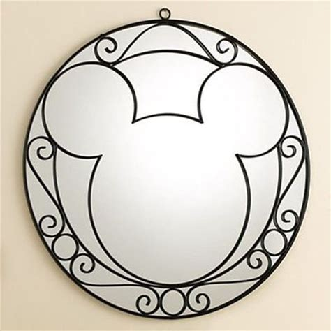 mickey mouse bathroom mirror wrought iron mickey mouse wall mirror home decor n