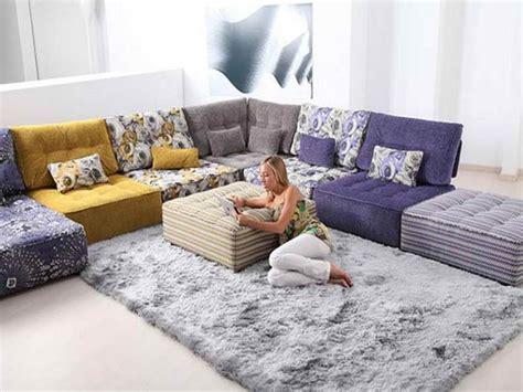 living room floor pillows modular floor pillows with carpet and cushion by fama modular floor pillows decorvoon