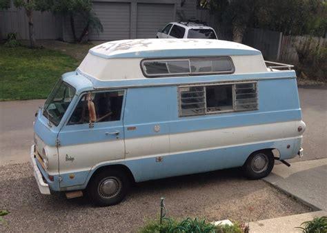 reserve  dodge  camper van project  sale