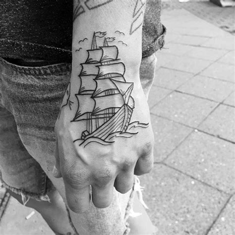 50 outline tattoos for silhouette design ideas