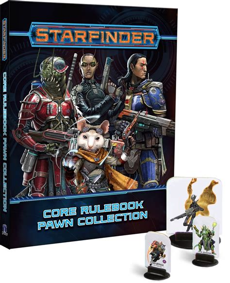 starfinder pawns archive pawn box books paizo starfinder rulebook pawn collection