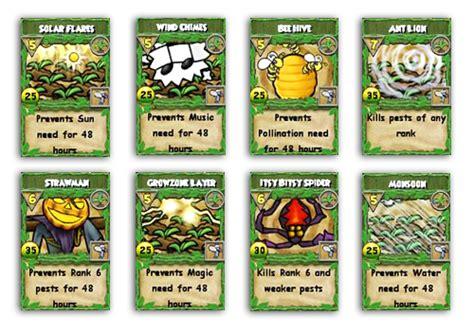 Wizard101 Gardening Spells by Frostcaller Gardening Update Tournament Types