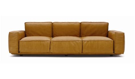 Bright Leather Sofa by Leather Sofas For Stylish Modern And Bright