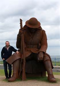When his sculpture reflecting the sheer horror of World War One was