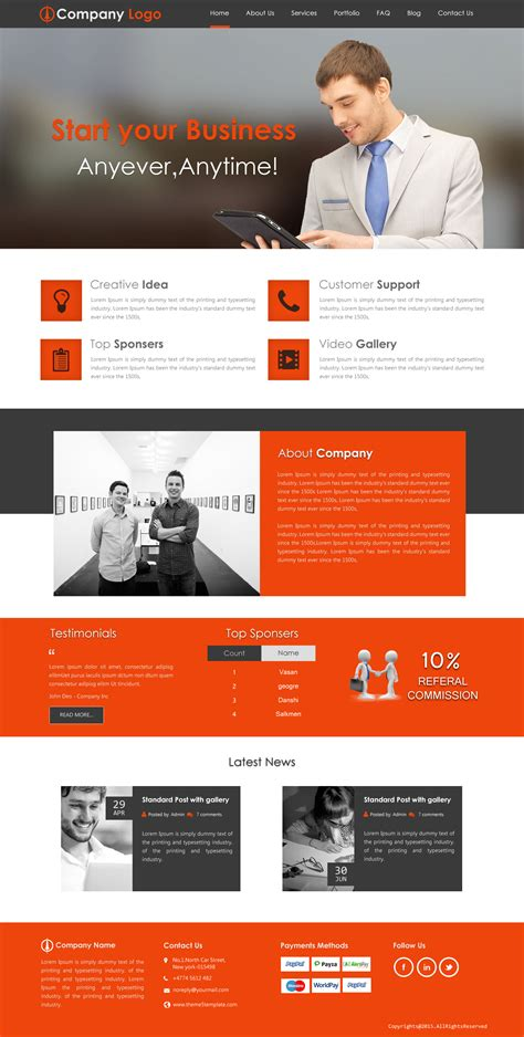 wesite templates mlm website templates mlm templates mlm website design
